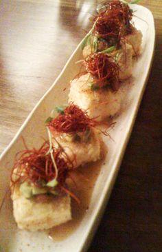 Vegans: Eat at Tokonoma! Sydney Food, Vegan Menu, Sushi Restaurants, Vegan Options, Vegan Friendly, Places To Eat, Tofu, Asparagus
