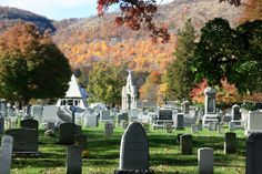 One of my favorite haunts when I was in 5th grade.  Cemetary, West Point NY