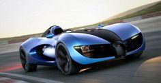Bugatti Type Zero Electric Car Concept | Ubergizmo