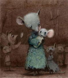 Волшебные иллюстрации Игоря Олейникова - Sangit