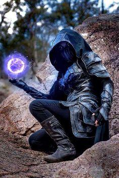 Nightingale armor from The Elder Scroll V:Skyrim Cosplay Amazing Cosplay, Best Cosplay, Dark Fantasy, Fantasy Art, Nightingale Armor, Character Inspiration, Character Art, Skyrim Cosplay, Skyrim Armor