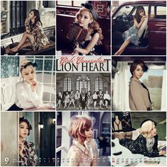 LionHeart Calendar1509❃Snsd Wallpaper