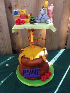A birthday cake for m nephew's 4th birthday.