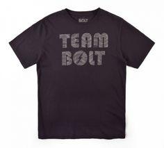 Navy Team Bolt Tee - MEN - Tees & Tanks - Lightning Bolt