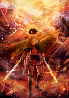 Levi | Shingeki no Kyojin |  Attack on titan | SNK