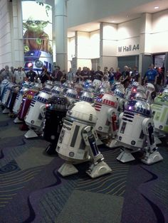 Star Wars R2 Droid Heaven!