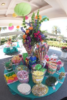 Disneyland candy buffet