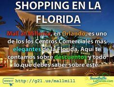 The Mall at Millenia es un Centro Comercial en Orlando y uno de los más elegantes de la Florida. Con marcas reconocidas de primer nivel es un lugar que recomendamos visitar ==> http://g2l.us/mallmill