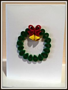 Trupti's Craft: Paper Quilling Christmas Cards