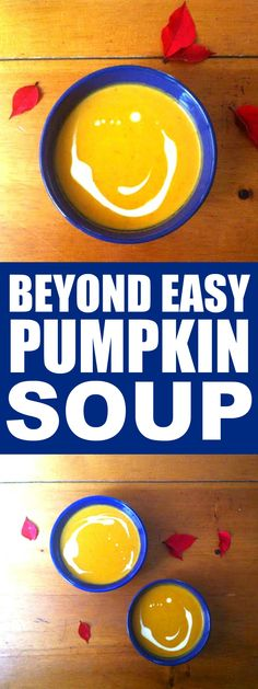 This Pumpkin Soup Recipe is THE BEST! I'm so HAPPY I found these GREAT soup! Now I can impress my friends and family! Definitely pinning!