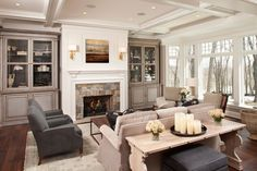 The Hamptons Historic Estate ~ Built by Hendel Homes | hendelhomes.com/hamptons-historic-estate