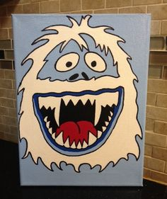 Abominable Snowman From Rudolph the Red-Nosed by LoveWithFaith