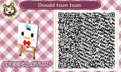 """specialstump: """"decided that i'd post my first qr codes which happened to be tsum tsums because i've wanted them for so long. they look best customized onto couch cushions or on the cushion itself!! feel free to message me with any tsum sum..."""
