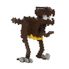 Plus-Plus Mini 480 Dino | edukacnehracky.sk Safari, Hello Kitty