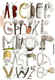 beatrice alemagna alfabeto