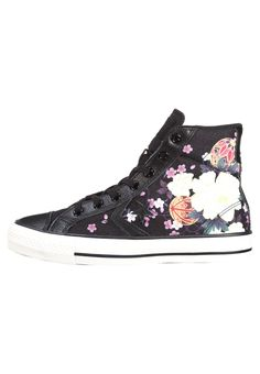 Converse STAR PLAYER - Korkeavartiset tennarit - black hana - Zalando.fi