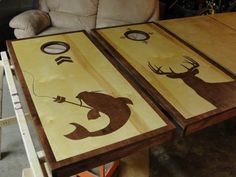 corn hole board designs ideas | Deer hunting and bow-fishing!  Cornhole Players :: Cornhole Game ...