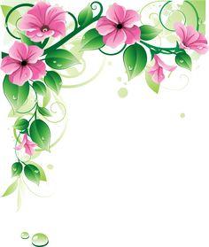 flower border clip art flower corner borders clipart best clip rh pinterest com clip art flower borders and frames clip art flower border free