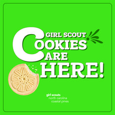 The largest girl-led business in the world is officially back! The Girl Scout Cookie Program prepares girls with business smarts they need to take on the world. Happy selling, Girl Scouts!