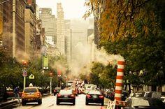 Walk In New York - Park avenue - Rainy Day