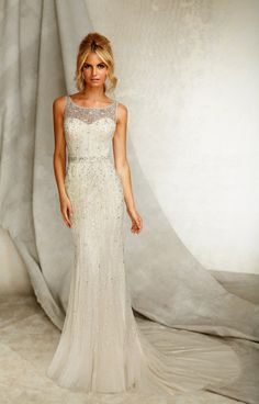 Angelina Faccenda 1262 Ivory Weddingslim Wedding Dresseswedding