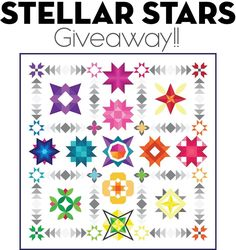 """491 Likes, 1,495 Comments - Cristy Fincher (@cristycreates) on Instagram: """"To celebrate my new Stellar Stars BOM, I'm having a giveaway!! I am so grateful to all of you for…"""""""