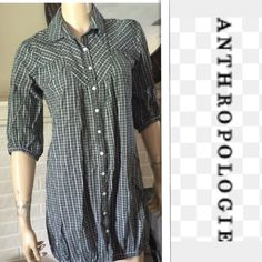 Anthropologie Silence+Noice top Nice Silence+noise top sz M. Made with 100% cotton. Anthropologie Tops Button Down Shirts