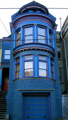 Victorian Haight Ashbury by Demetrios Lyras