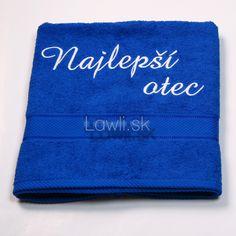 Osušky s nápismi - Najlepší otec http://www.lawli.sk/darcek/eshop/29-1-Vysivane-osusky/8-2-Vysivane-osusky-s-napismi