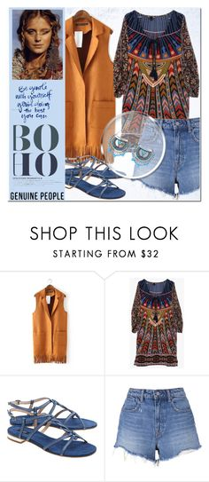 """Boho"" by nerma10 ❤ liked on Polyvore featuring Steffen Schraut, T By Alexander Wang, women's clothing, women, female, woman, misses, juniors and Genuine_People"