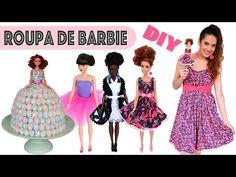 DIY: ROUPINHAS de BARBIE | Especial DIA DAS CRIANÇAS - YouTube