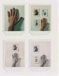 poietike:  Lew Thomas Polaroid hand series, 1972, (revised 1980), 1980.