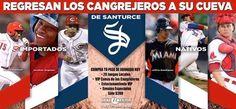 Los Cangrejeros de Santurce regresan a su cueva, el Hiram Bithorn! Boletos en Ticket Center