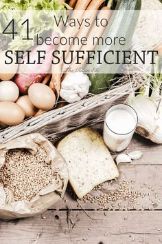 A self sufficient lifestyle is a lofty goal, but you can add to your skillset and become more self sufficient with these 41 ideas. homesteading for beginners Homestead Survival, Survival Prepping, Survival Skills, Survival Gear, Survival Equipment, Survival Quotes, Emergency Preparedness, Self Sufficient Homestead, How To Be Self Sufficient