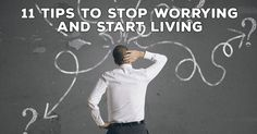 When you are plagued by worry, life can be difficult to live. Easily banish your worries with these seven tips. #behappy #satisfaction