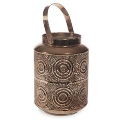Lanterne en métal H 18 cm TODOS SANTOS