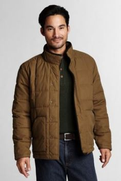 Men's Sportsman Quilted Insulator Jacket from Lands' End