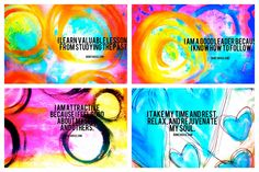 NEW Affirmation Empowerment 36 Card Sets! | Bonita Rose, Life.Love.Color.Art a life unrehearsed