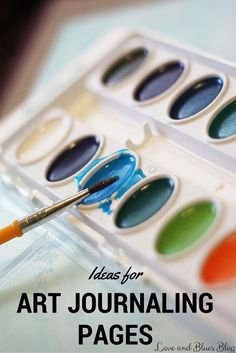 Have you started an art journal, but now you're struggling to find ideas? Here's a list of the places I get ideas for art journaling.