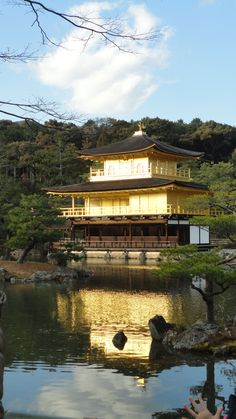 I've been here, the reflection is amazing! All of the gold on the shrine was breath taking!