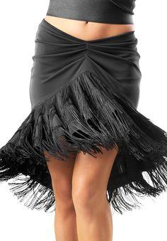 Je Dor Bell Fringe Latin Dance Skirt J3184 | Dancesport Fashion @ DanceShopper.com