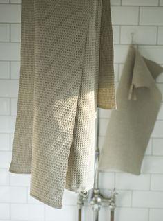 Geschirrtuch Tea Towel Green Gate Summer Stripe Streifen Shabby Fransen 100/%BW