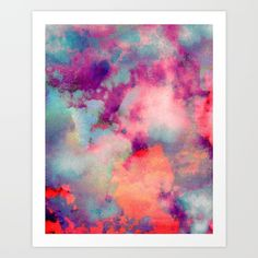 Untitled+20110625p+(Cloudscape)+Art+Print+by+Tchmo+-+$18.00