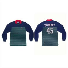 Vintage Tommy Hilfiger spell out long sleeve by BLOCKPARTYVINTAGE