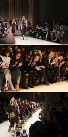 2014 AW Burberry Prorsum Womenswear http://www.fashionseoul.com/?p=24545
