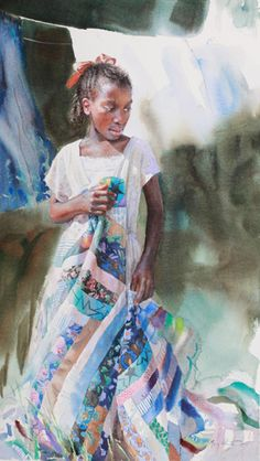 Afar by Mary Whyte | American Watercolor Artist