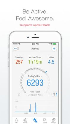 walking tracking app iphone