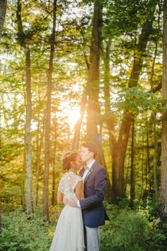 Beautiful interracial couple on their wedding day in Maine #love #wmbw #bwwm Pinterest: @WithLoveReesie