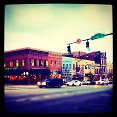 downtown - athens, ga.  home