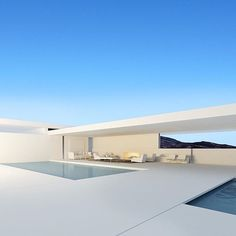 No hay ninguna descripción de la foto disponible. Minimal Architecture, Studios Architecture, Contemporary Architecture, Interior Architecture, Luxury Interior, Villa Design, Modern House Design, Minimalist Home, Minimalist Design